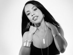ca. 2001 --- Aaliyah --- Image by ?Hype Williams/Corbis Outline